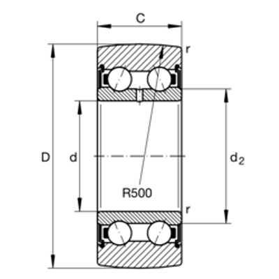 Подшипник LR5003-2RS