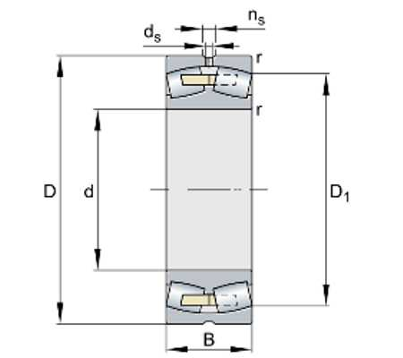 Подшипник 23072-BEA-XL-MB1