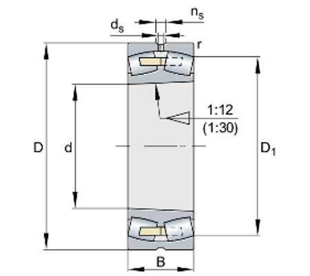 Подшипник 24080-BEA-XL-K30-MB1