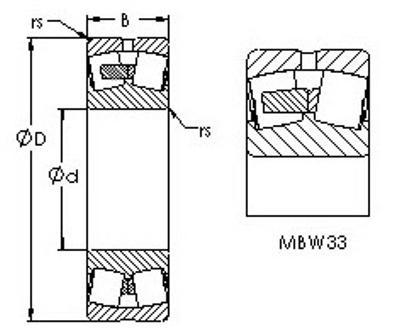 Подшипник 23236-MB-W33